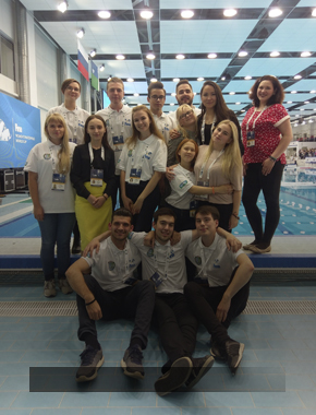 Студенты СурГУ стали волонтерами Кубка мира по водному поло!